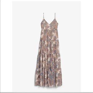 NWT Express Paisley Maxi dress